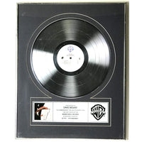 ZZ Top Afterburner Label Platinum Album Award