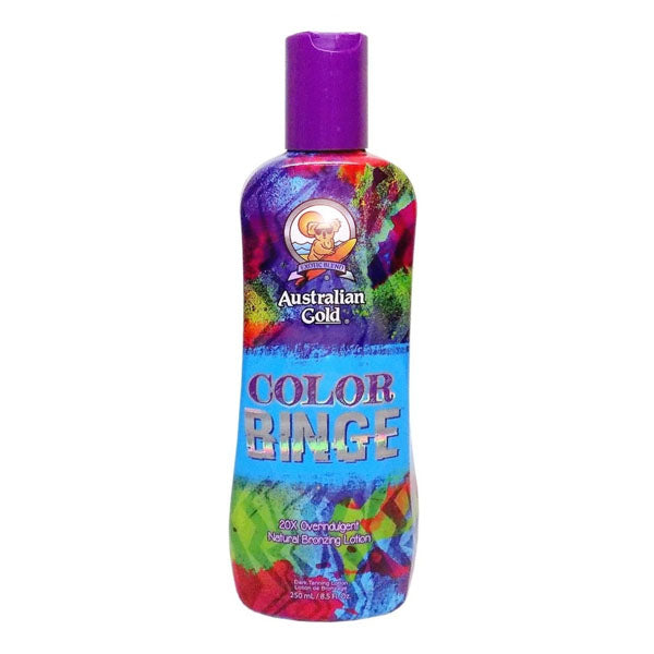Australian Gold Color Binge Bronzing Indoor Tanning Lotion