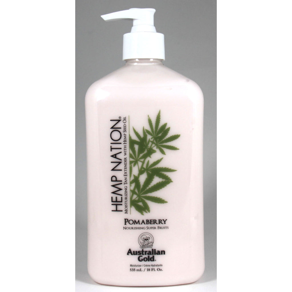 Australian Gold Hemp Nation Pomaberry After Tan and Daily Moisturizer