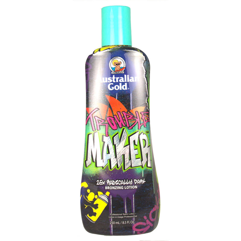 Australian Gold Trouble Maker Bronzing Indoor Tanning Bed Lotion
