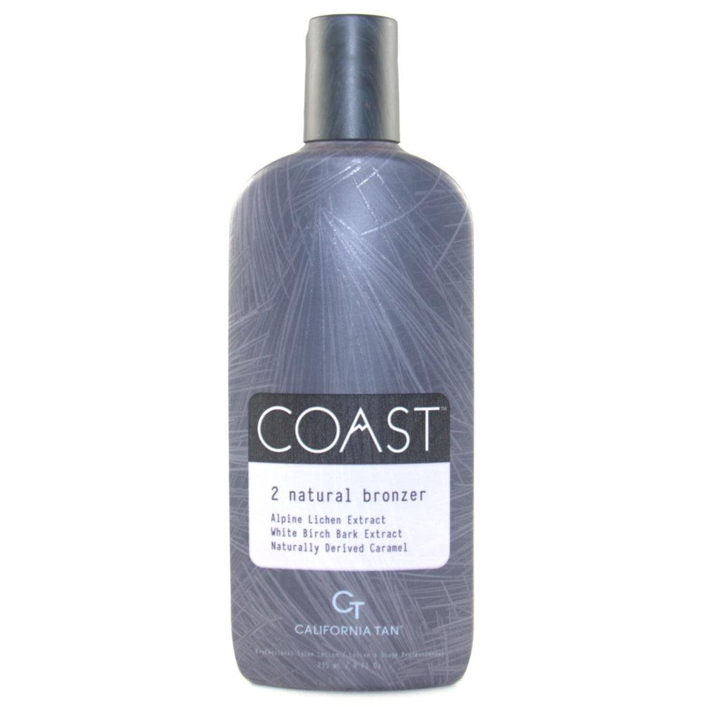 California Tan Coast Natural Bronzer Step 2 Tanning Lotion