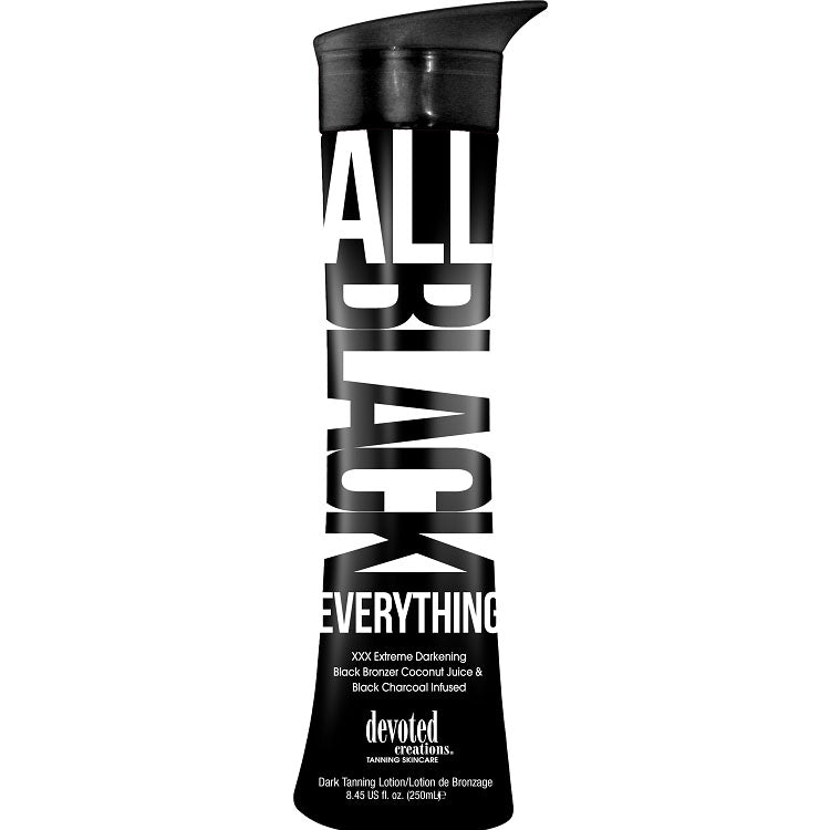 Devoted Creations All Black Everything Tanning Lotion