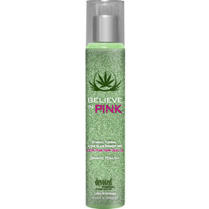 Devoted Creations Believe In Pink Hemp Tanning Lotion