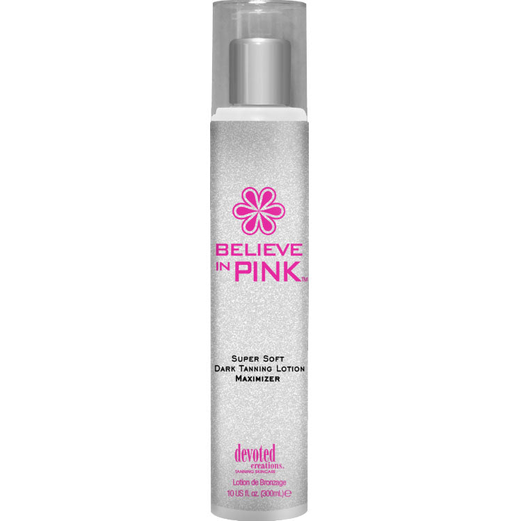 Devoted Creations Believe In Pink Maximizer Tanning Lotion