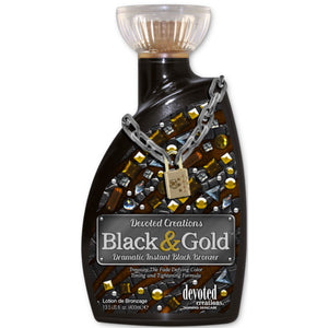 Devoted Creations Black & Gold Tanning Lotion