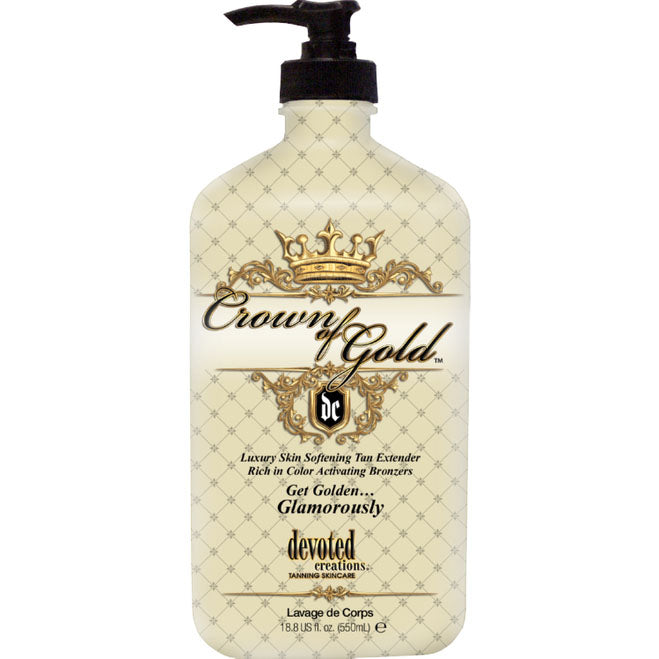 Devoted Creations Crown Of Gold Moisturizer