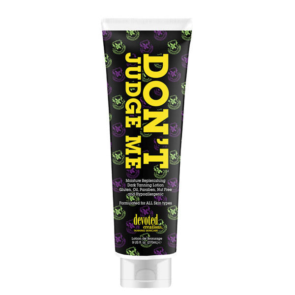 Devoted Creations Don't Judge Me Paraben Free Hypoallergenic Tanning Lotion