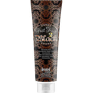 Devoted Creations Fast Track 2 Black Bronzer Free Tanning Lotion Maximizer