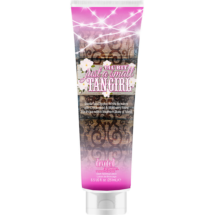 Devoted Creations Lil Bit Just a Small Tan Girl Tanning Lotion