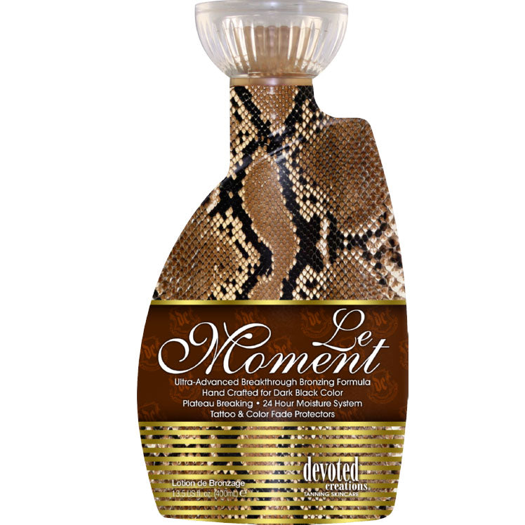 Devoted Creations Le Moment Tanning Lotion
