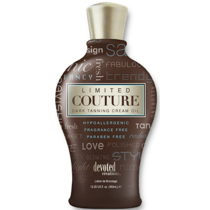 Devoted Creations Limited Couture Tanning Lotion