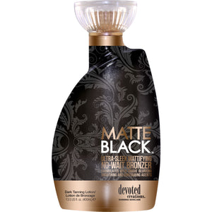 Devoted Creations Matte Black Tanning Lotion