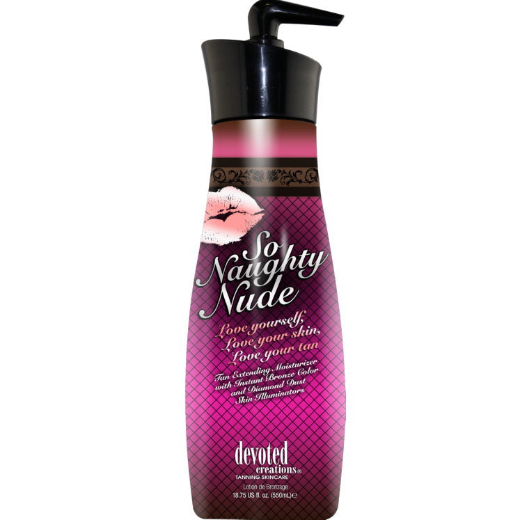 Devoted Creations So Naughty Nude After Tan and Daily Moisturizer