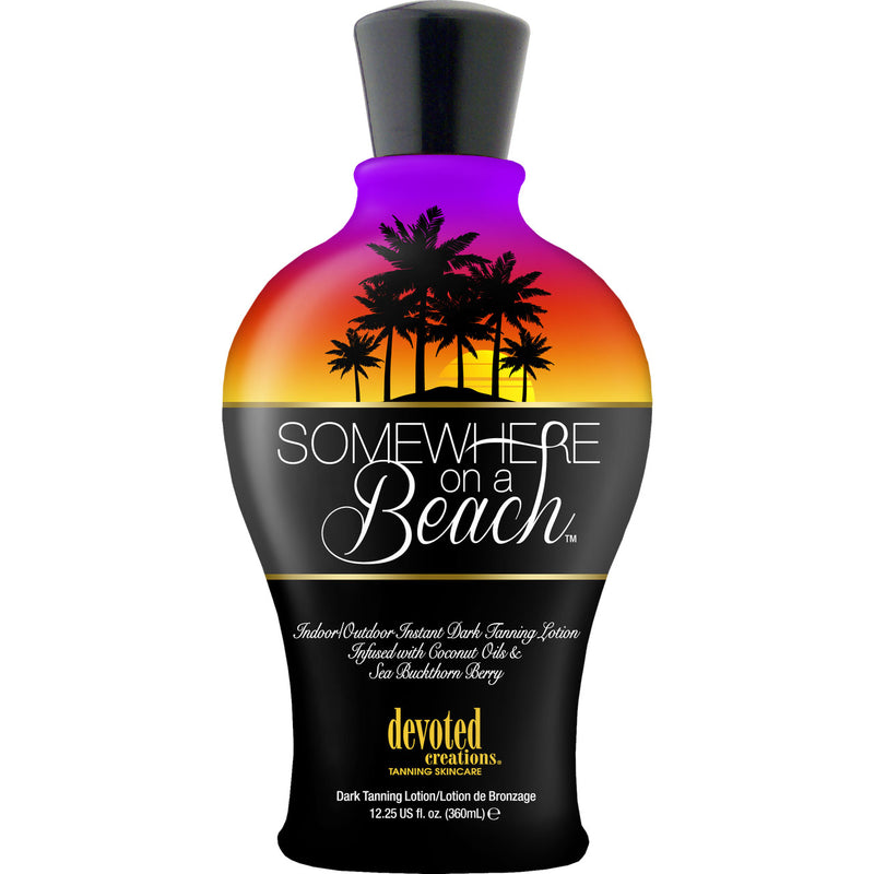 Devoted Creations Somewhere on a Beach Indoor / Outdoor Tanning Lotion