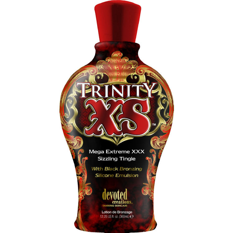 Devoted Creations Trinity XS Hot Tingle Bronzing Indoor Tanning Lotion