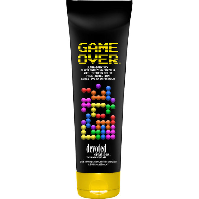 Devoted Creations Game Over Hypoallergenic Sensitive Skin Tanning Bed Lotion