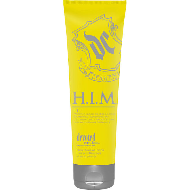 Devoted Creations H.I.M. Fit Cooling Bronzer Tanning Lotion for Men