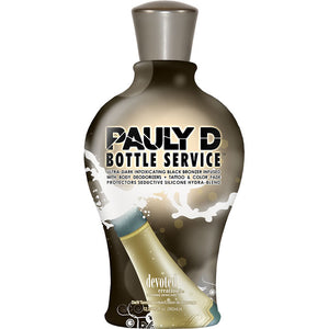 Devoted Creations Pauly D Bottle Service Bronzing Tanning Lotion for Indoor Tanning Beds