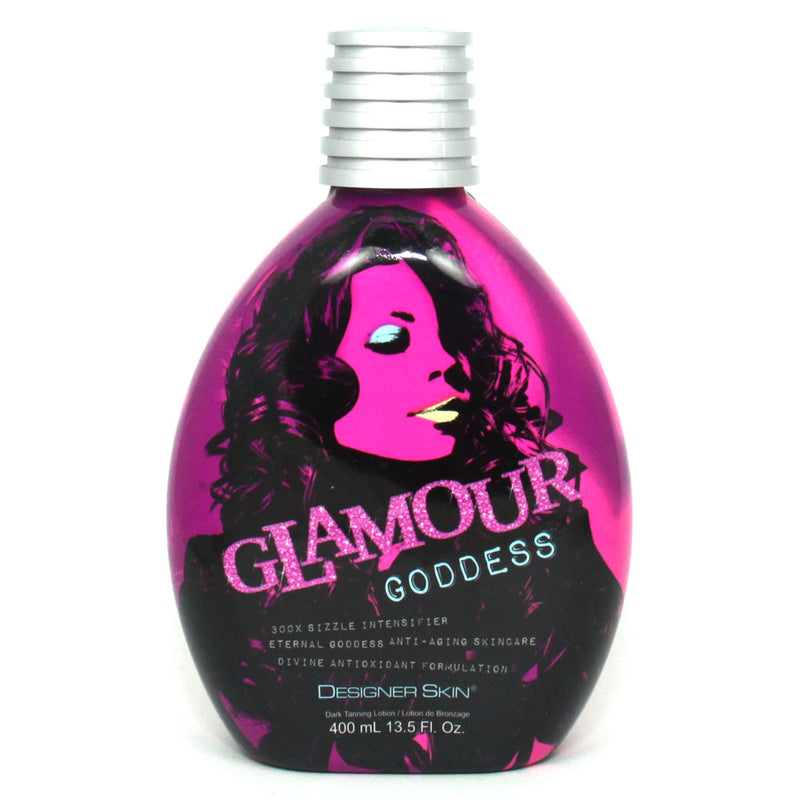 Designer Skin Glamour Goddess Hot Tingle Bronzing Tanning Lotion for Indoor Tanning