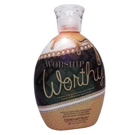 Designer Skin Worship Worthy Bronzing Tanning Lotion for Indoor Tanning