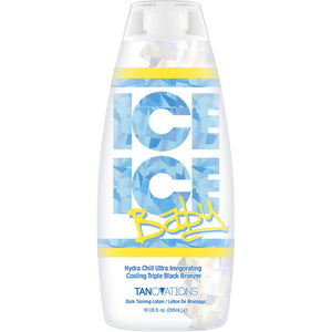 Ed Hardy Ice Ice Baby Cooling Bronzer Tanning Lotion for Indoor Tanning