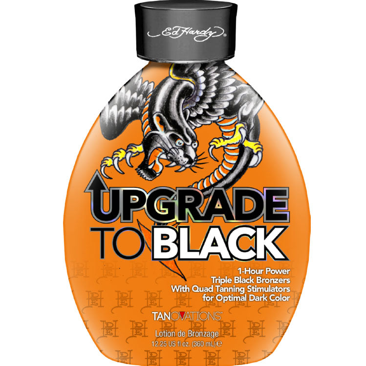 Ed Hardy Upgrade to Black Dark Bronzing Tanning Lotion