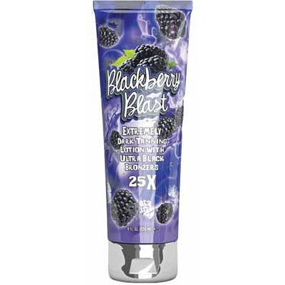 Fiesta Sun Blackberry Blast Dark Bronzing Tanning Lotion for Indoor Tanning