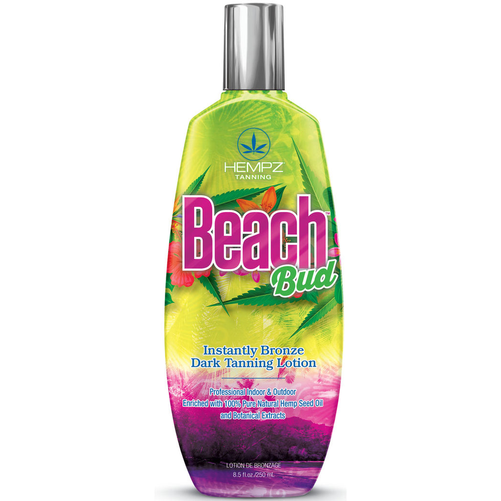 Hempz Beach Bud Bronzing Tanning Bed Lotion