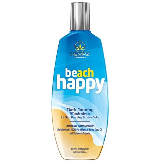 Hempz Beach Happy Tanning Maximizer Lotion for Indoor and Outdoor Tanning