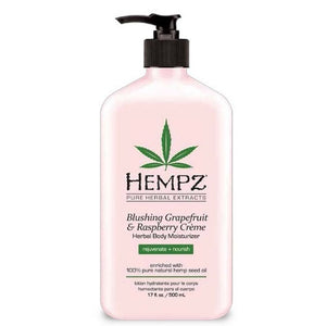 Hempz Blushing Grapefruit & Raspberry Creme After Tanning and Daily Moisturizer