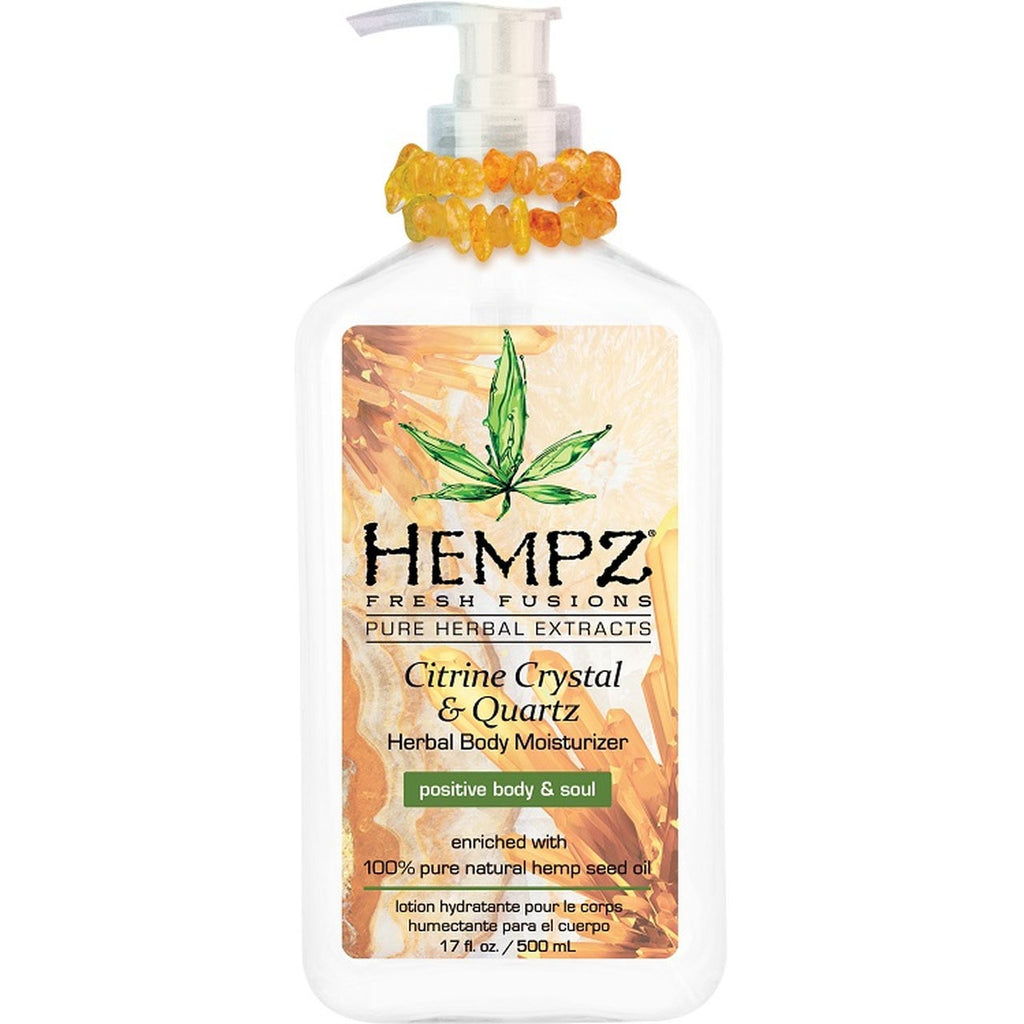 Hempz Citrine Crystal & Quartz Body Moisturizer
