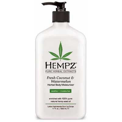 Hempz Fresh Coconut & Watermelon Herbal After Tanning and Daily Body Moisturizer