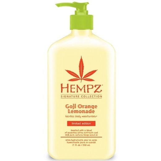 Hempz Goji Orange Lemonade Limited Edition Herbal After Tan and Daily Moisturizer