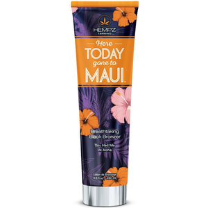 Hempz Here Today Gone to Maui Breathtaking Black Bronzer Tanning Lotion