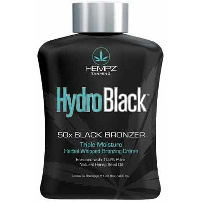Hempz HydroBlack Dark Bronzing Indoor Tanning Bed Lotion