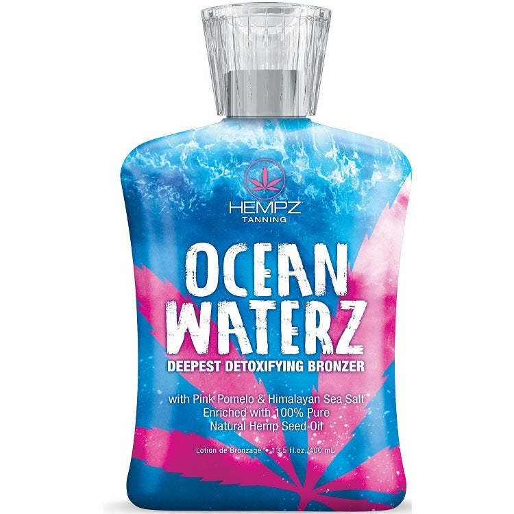 Hempz Ocean Waterz Bronzing Tanning Bed Lotion
