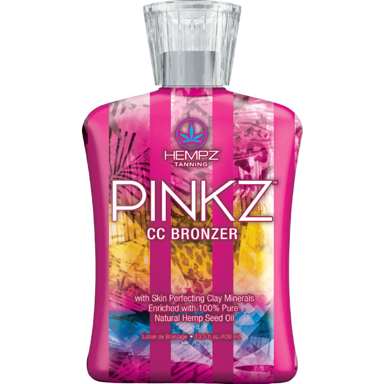 Hempz Pinkz CC Bronzing Tanning Lotion for Indoor Tanning Beds