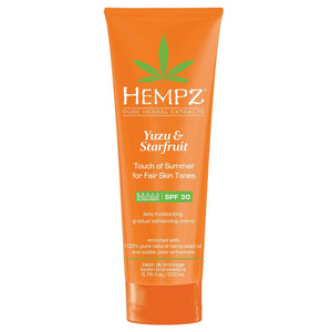 Hempz Yuzu & Starfruit Touch Of Summer for Fair Skin Tones with SPF 30