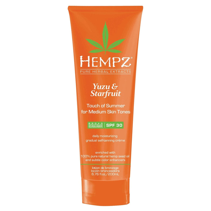 Hempz Yuzu & Starfruit Touch Of Summer for Medium Skin Tones with SPF 30