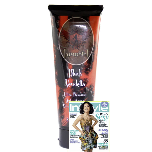 Immoral Black Vendetta 300XX Advanced Anti-Aging Tanning Lotion Bronzer