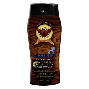Immoral Disobedient (for Men) Tanning Lotion