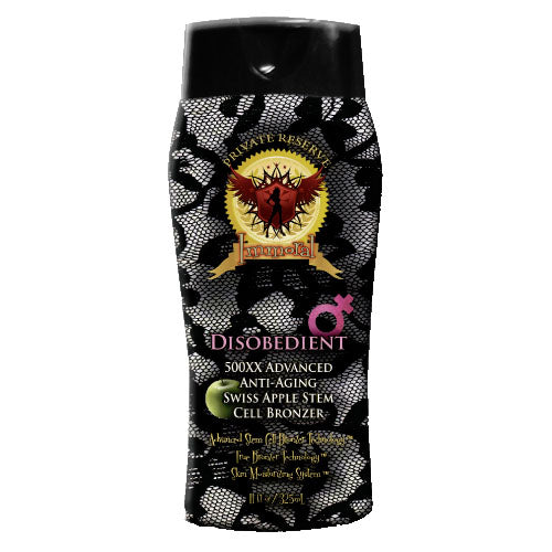Immoral Disobedient (for Women) Tanning Lotion
