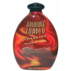 Most Absolute Loaded Dark Bronzing Tanning Bed Lotion