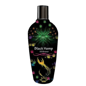 Most Black Hemp Tanning Lotion Bronzer with Hemp Seed Oil and DHA