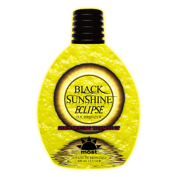 Most Black Sunshine Eclipse Shade Shifting Indoor Tanning Lotion Bronzer