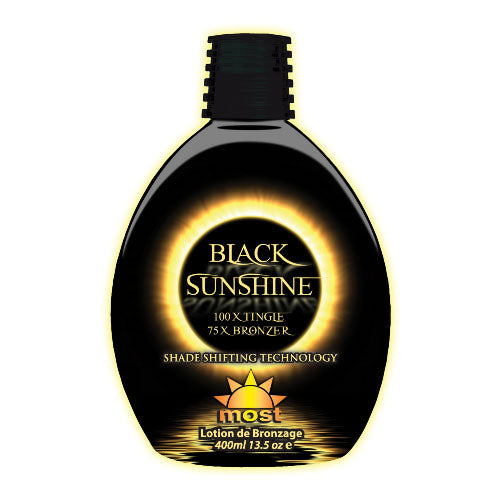 Most Black Sunshine Hot Tingle Bronzing Tanning Lotion for Indoor Tanning