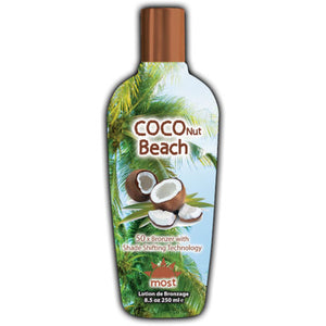 Most Coconut Beach Streak Free Bronzing Tanning Lotion