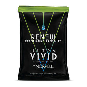 Norvell Ultra Vivid Renew Exfoliating Prep Mitt for Sunless Self Tanning