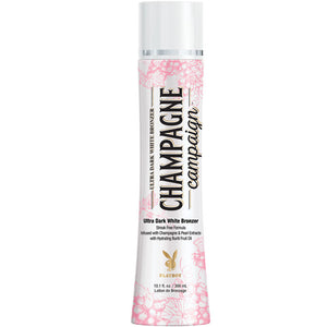 Playboy Champagne Campaign White Bronzing Tanning Bed Lotion