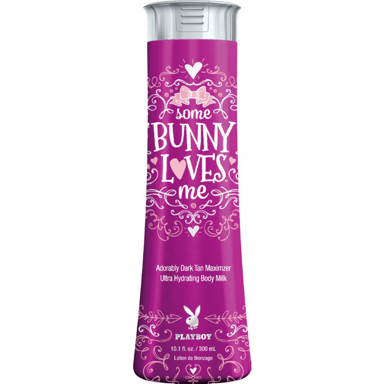 Playboy Some Bunny Loves Me Indoor Tanning Bed Lotion Maximizer